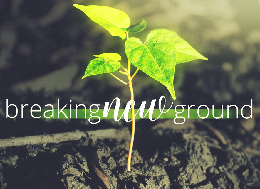 Breaking New Ground